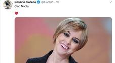 «Ciao Nadia», l'addio di Fiorello a Nadia Toffa in un cuore e un sorriso