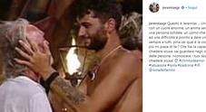 Il post di Jeremias Rodriguez su Riccardo Fogli fa commuovere i social