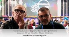 Sanremo, il punto: Baglioni, Bisio e altre polemiche secondo Alvaro Moretti e Marco Molendini
