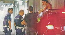 Belen, folle notte a Milano: fermata dalla polizia, ecco perché