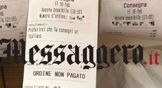 Scontrino choc su Just Eat a Roma: «Preferirei che la pizza la consegnasse un italiano»