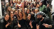 Gli studenti del Cordella a lezione da Anna Dello Russo