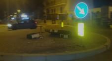 Porto Cesareo, epilogo choc: distrutto il cartello della discordia