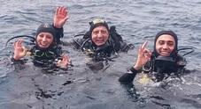 Di Maio, vacanza da sub in Sardegna con la fidanzata Virginia Foto