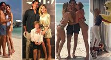 """Gaia Lucariello, la moglie di Inzaghi e il """"trucco"""" sui social: sempre sulle punte per sembrare più alta"""