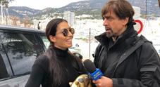 """Tapiro d'oro a Elisabetta Gregoraci: """"Nessun vitalizio, andiamo d'accordo e va tutto bene"""""""