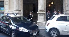 Perquisizioni dei carabinieri nella sede di Parnasi in via Emilia a Roma