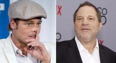 Weinstein, Brad Pitt minacciò il produttore che aveva molestato la sua fidanzata Gwyneth Paltrow