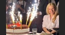 La festa per i 42 anni di Michelle Hunziker (Instagram)