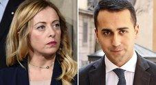 Meloni: «Di Maio voleva fare il premier e io ho detto basta»