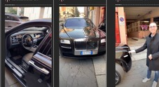 Fabrizio Corona e la Rolls Royce nuova. Il video che fa il giro del web