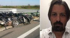 /L'incidente a bordo della sua Porsche