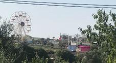 La location delle nozze: giostra e ruota panoramica