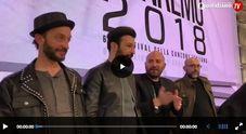 """Sanremo 2018 - I Negramaro: """"Qui per rappresentare le band italiane"""""""