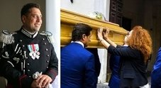 Le ultime parole del carabiniere ucciso: «Andrea aiutami, mi ammazza»