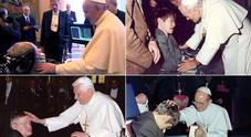 Quando volle ricevere da Benedetto XVI la benedizione