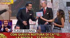 Flavio Insinna, lo sfogo in diretta su Facebook: «Vogliono distruggermi come persona»
