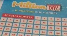 Million Day, i numeri vincenti di oggi sabato 13 luglio 2019
