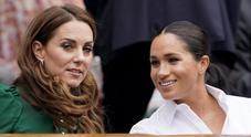 Tennis, Kate e Meghan insieme in tribuna per la finale di Wimbledon
