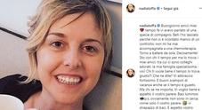 Nadia Toffa torna single: «Ho lasciato il mio compagno, non mi accompagnava alle chemio»