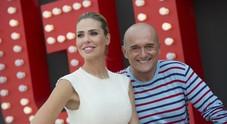 Ilary Blasi e Alfonso Signorini: «Quest'anno faremo fatica a tenere a bada i concorrenti»
