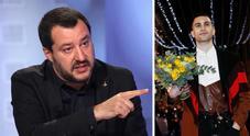 Salvini chiama Mahmood dopo le critiche del post su Sanremo 2019: «Mi sono sentito in torto»