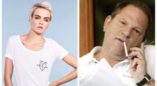 Weinstein, anche la top model Cara Delevingne lo accusa: «Voleva farmi fare sesso a tre»
