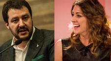 Matteo Salvini punge Elisa Isoardi, addio con frecciata: «Qualcuno aveva altre priorità»
