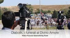 Diabolik, i funerali al Divino Amore