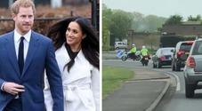 Meghan Markle, auto con coperte rosa avvistate vicino a Frogmore Cottage: la royal baby è nata?