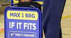 Ryanair, nuove regole sui bagagli a mano