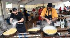 Spaghetti con le vongole lupino a Fiumicino (Foto di Umberto Serenelli)