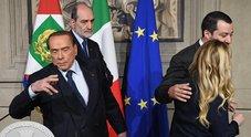 Da Berlusconi scacco a Salvini di M.Conti
