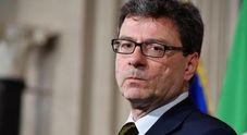 Giorgetti, voto a ottobre o Governo elettorale anti-Iva