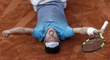 La storica vittoria su Djokovic
