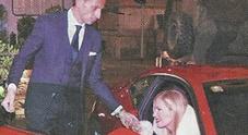 Federica Panicucci extralusso a Milano: a passeggio con la Ferrari insieme al fidanzato