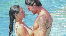 Cecilia Rodriguez e Ignazio Moser, passione hot in piscina a Capri