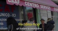 Reddito-flop, gli italiani lo snobbano: uno su due non ha fatto la richiesta