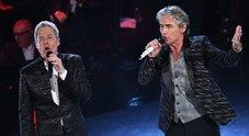 """Il duetto Ligabue-Baglioni: """"Dio è morto"""" e anche a casa qualcuno non è stato tanto bene"""