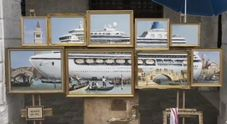 Banksy, blitz a Venezia contro le navi da crociera