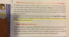 «Van Gogh tagliò l'orecchio a Gauguin», l'incredibile svista su un libro di scuola