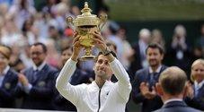 Djokovic trionfa a Wimbledon, Federer battuto 13-12 al tie-break del quinto set