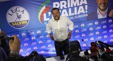 Europee: Lega 34%, Pd 22%, M5S 17%