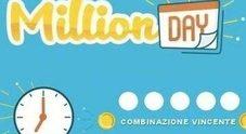 Million Day, estrazione martedì 9 aprile 2019: i numeri vincenti