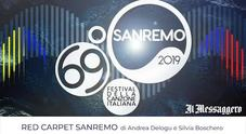 Red carpet Sanremo, i retroscena di Andrea Delogu e Silvia Boschero: «Quando i cantanti si chiudono al Casinò»