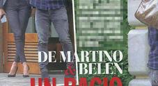 Belen Rodriguez e Stefano De Martino, baci a Milano (Chi)
