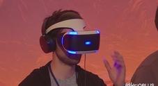 La realtà virtuale star del salone dei videogames a Los Angeles