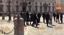 Consultazioni, il PD lascia il Quirinale senza rilasciare dichiarazioni all'esterno
