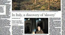 """""""Schiavitù in Italia"""": la morte di Paola Clemente sulla prima pagina del New York Times"""