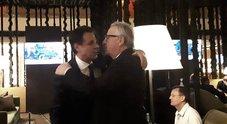 L'asse con Juncker che rassicura i due vice